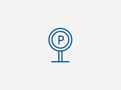 Öffentlicher Parkplatz