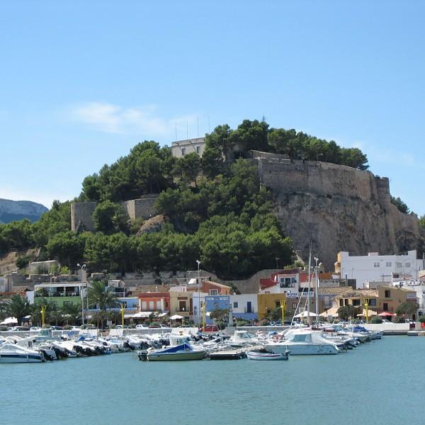 The castle of Dénia